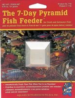API Pyramid 7 Day Fish Feeder Holiday Vacation Food for Tropical and Coldwater